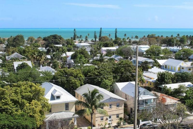 View of Key West from the top of the lighthouse