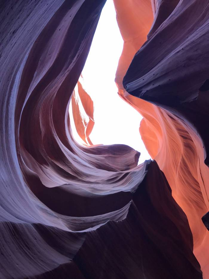 Upper v. Lower Antelope Canyon