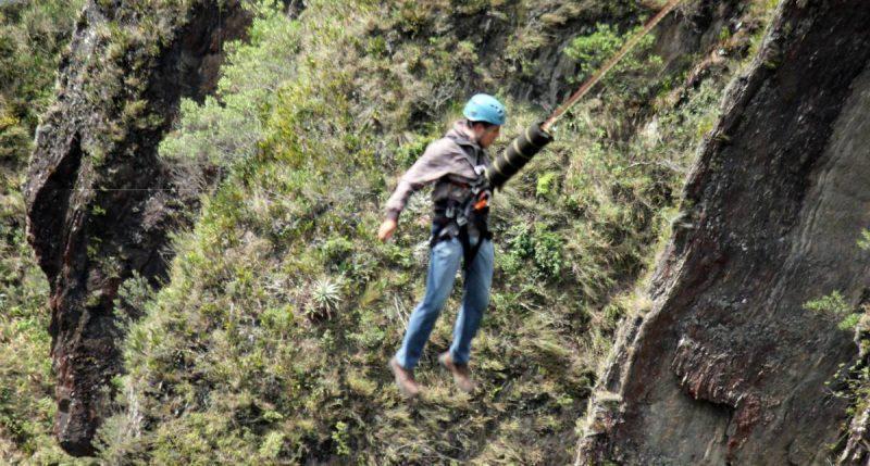 Adventures in Baños Ecuador