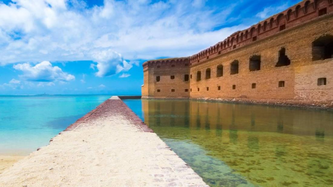 View of Fort Jefferson