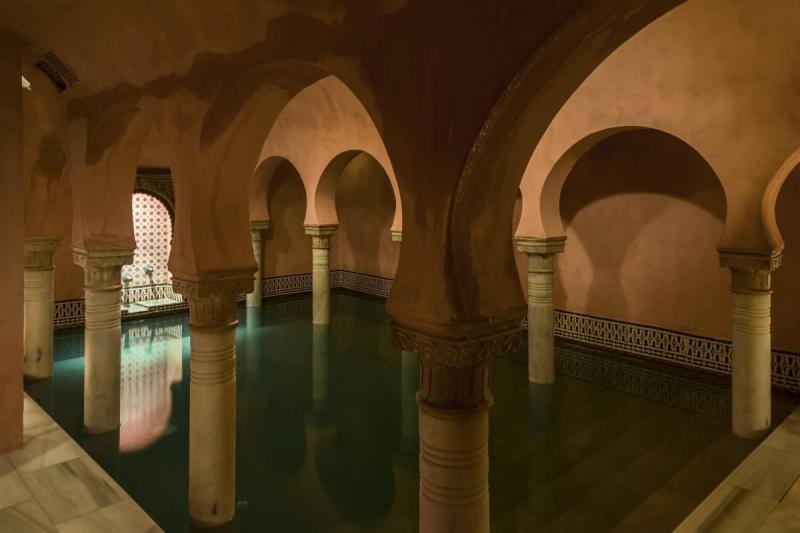 Hammam al Andalus interior