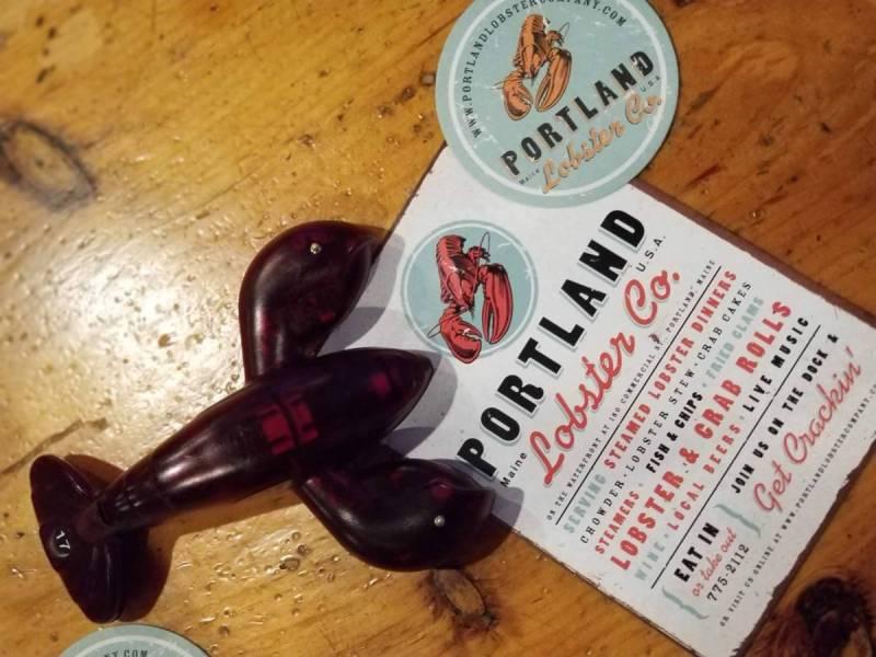 Menu at Portland Lobster Co