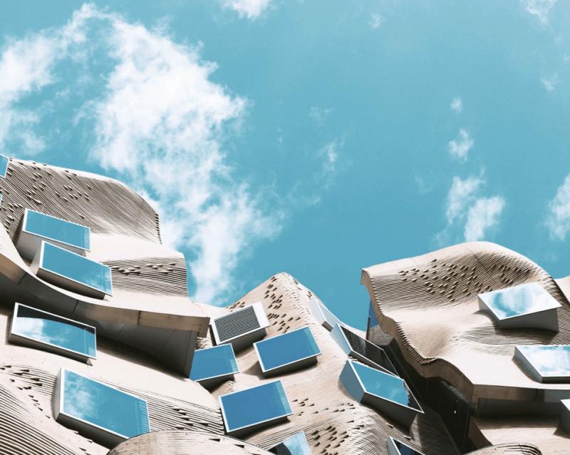 Funky architecture in Sydney, Australia