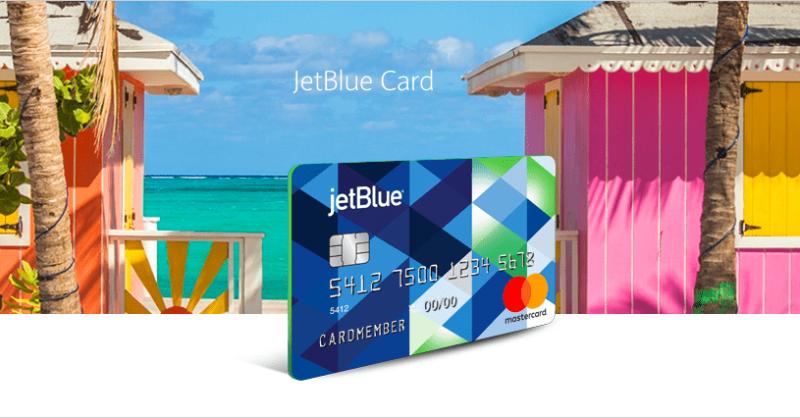 JetBlue Credit Card Offer on Website