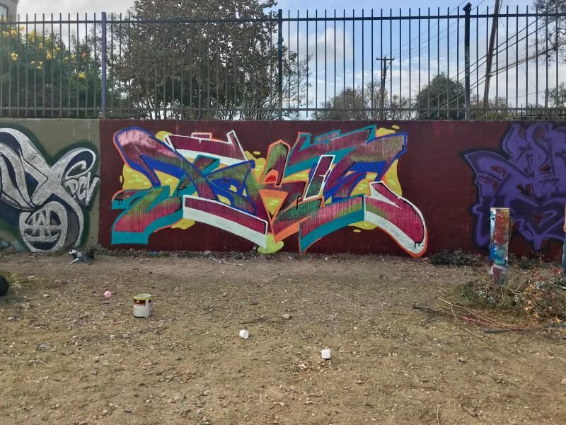 Colorful street art