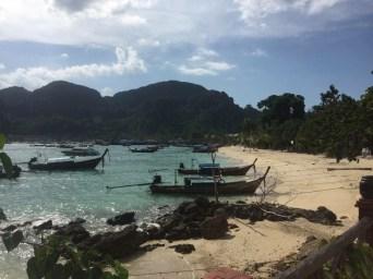 Long-tail boats in Phuket