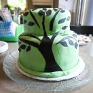 this awesome looking cake was awesomely delicious