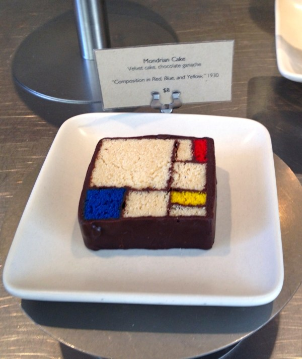Mondrian Cake. Affordable Piet Wedding Cake With