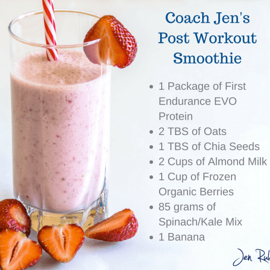 Coach Jen's Post Workout Smoothie