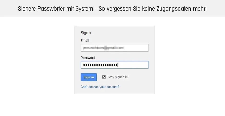 Sichere Passwörter mit System – keine Zugangsdaten mehr vergessen
