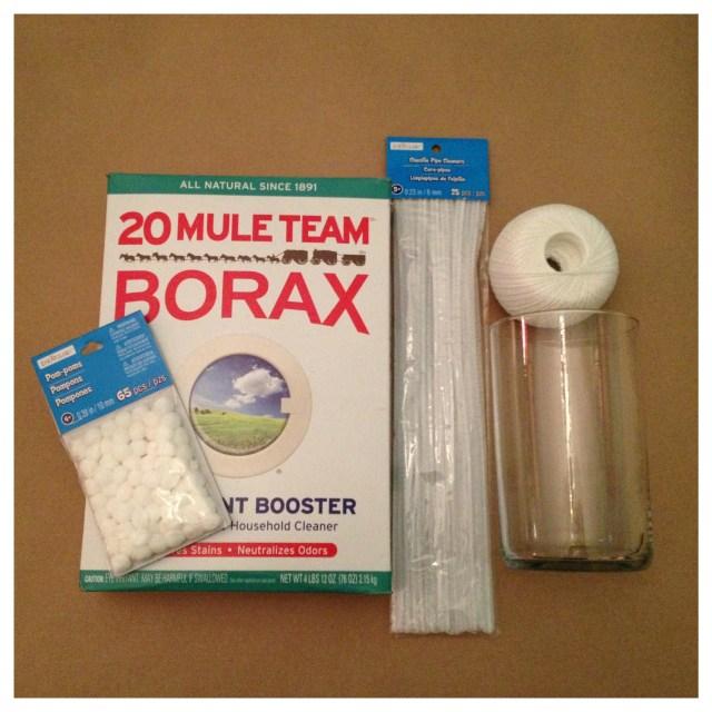 Borax Snowflake Supplies