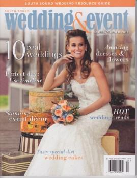 South Sound Wedding & Event Cover 2013