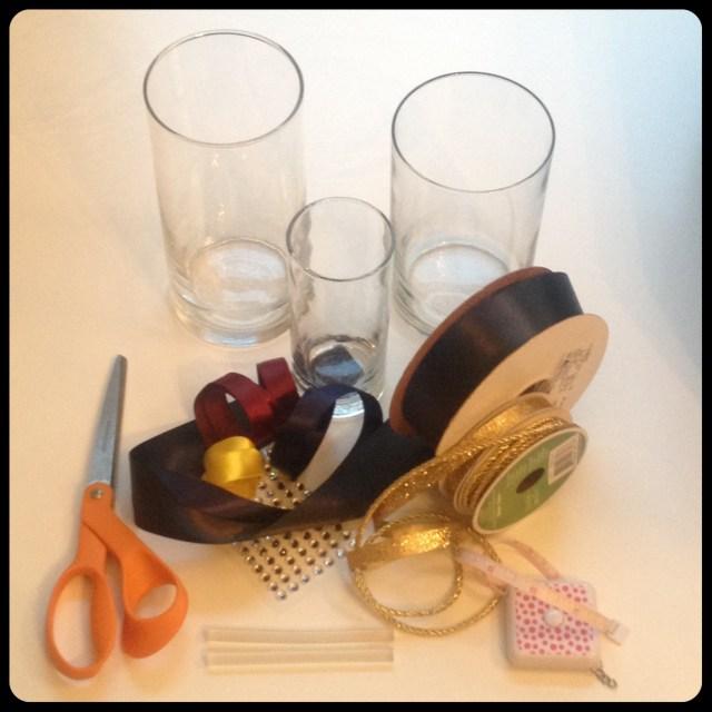 Drum Candle Holder Supplies