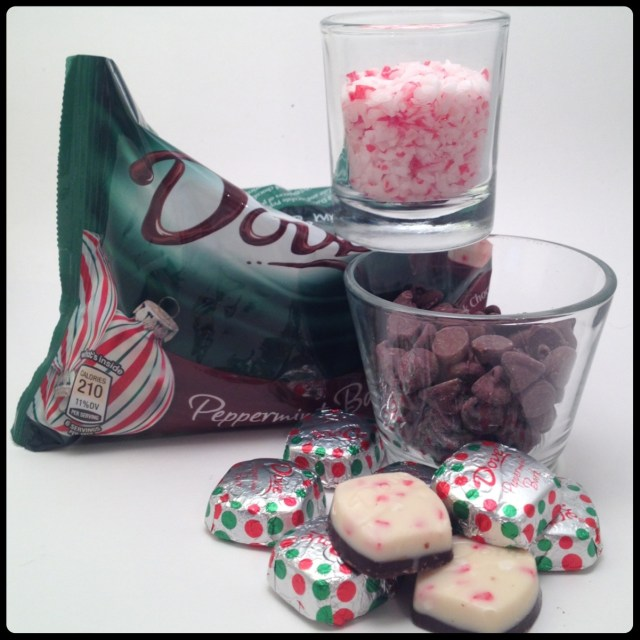 Peppermint Bark Cookies Supplies
