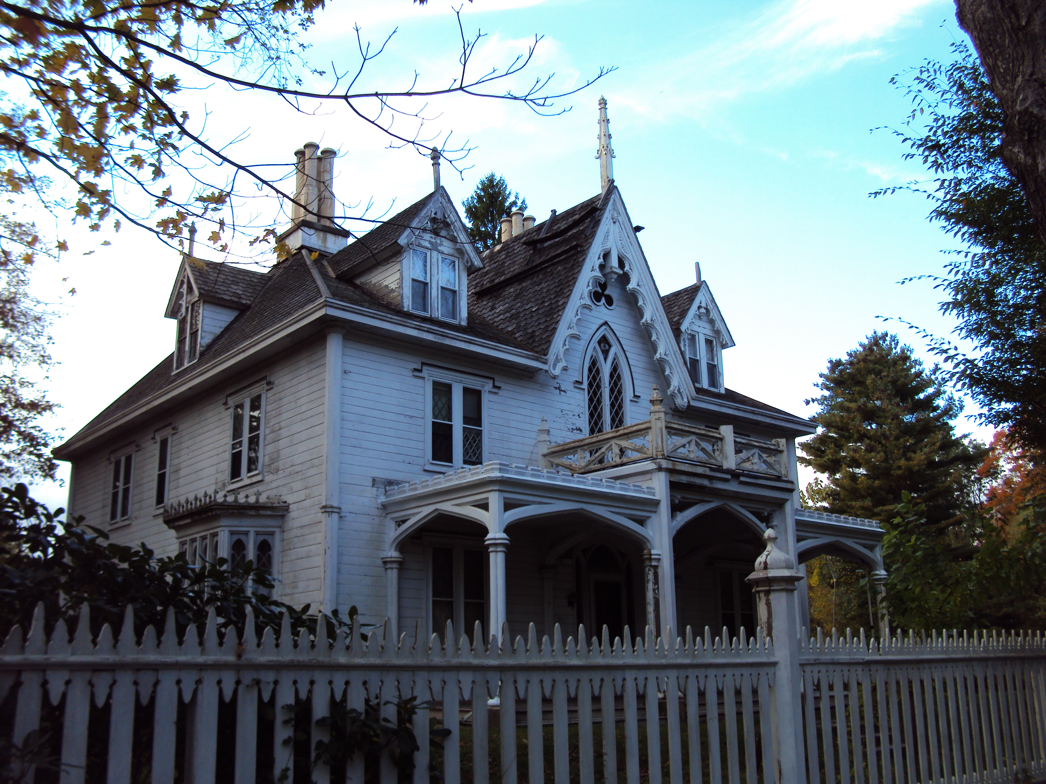 Haunted House or great fixer-upper?