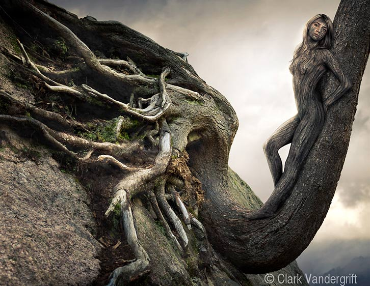 Fantasy Body Painting Gallery Realistic Tree People Gallery