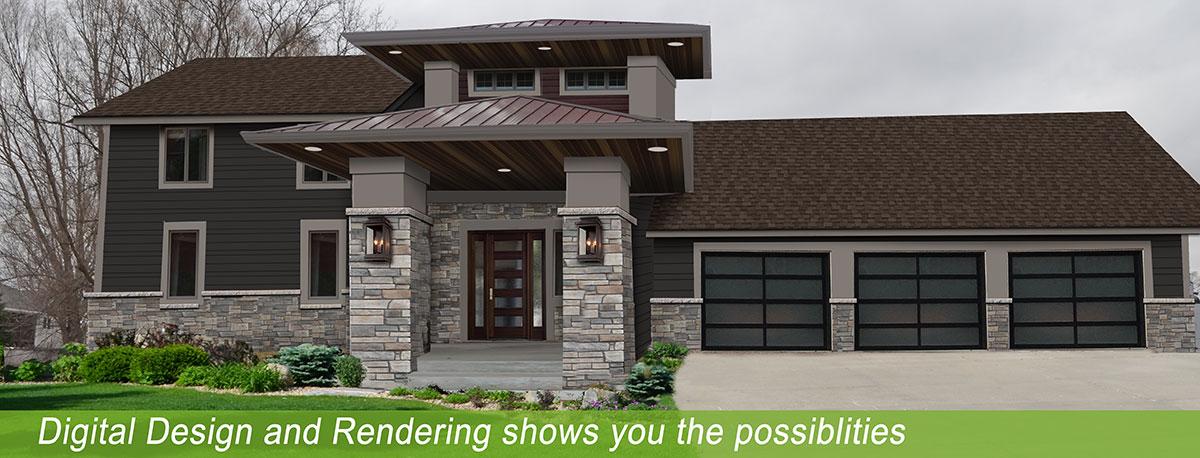 Exterior Design MN | Jensen Remodel Design | Home Remodeling