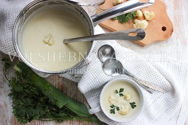 "Французский суп ""Дюбарри"" - вкусно и просто"