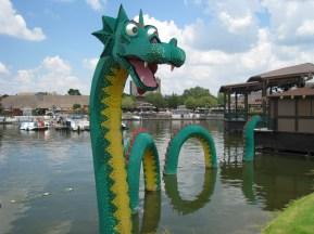 Lego Dragon at Downtown Disney