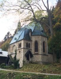 Beautiful little mountain church
