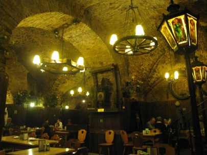 Inside Zwölf Apostlekeller