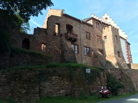 Back of the castle