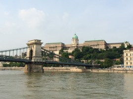 View of the Chain Bridge