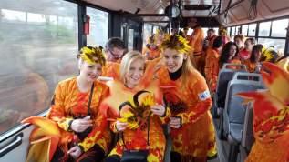 Riding the bus to Rijeka