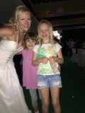 The littlest wedding crashers! Adorable!
