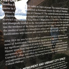 History on Akershus