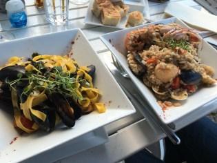 Dinner at Proseccheria