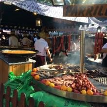 Street markets for the festival