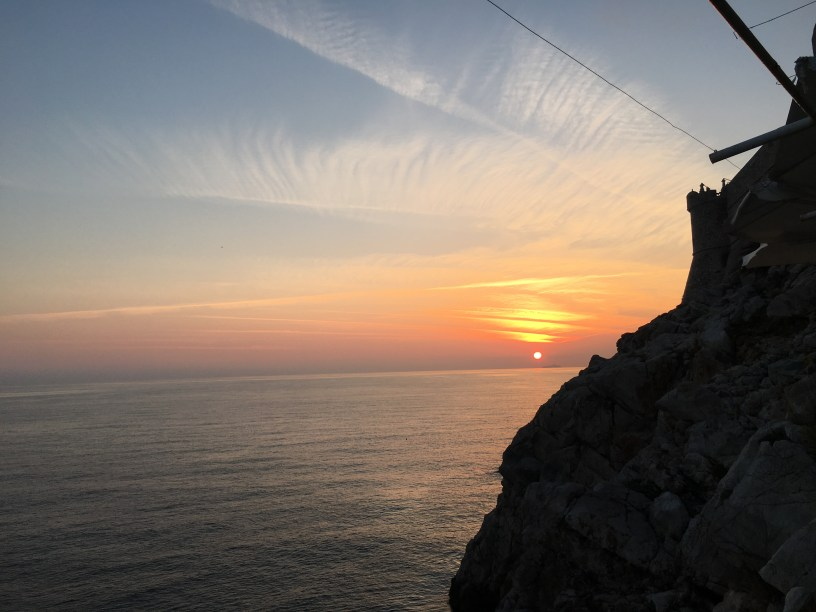 Sunset from Buza Bar