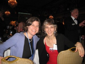 Jen Sorensen and Isabella Bannerman at Reubens 2011