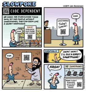 "This Week's Cartoon: ""Code Dependent"""