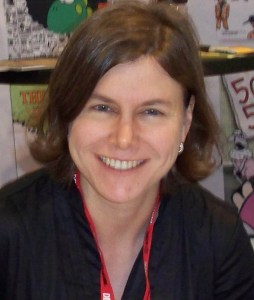 Headshot of cartoonist Jen Sorensen