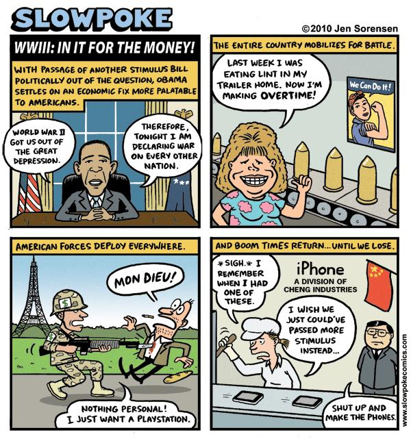 "This Week's Cartoon: ""A Teachable Moment"""