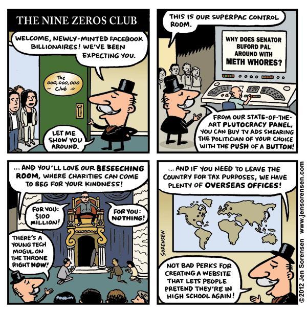 The Nine Zeros Club