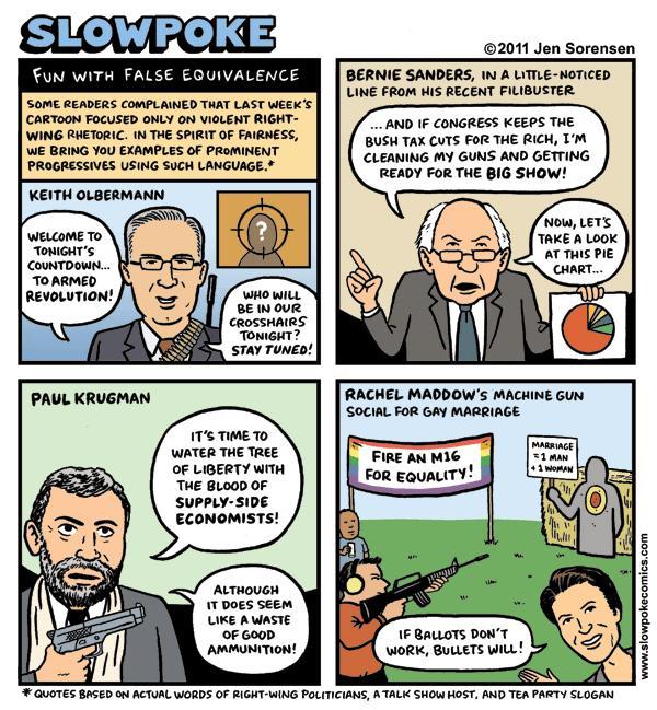 "This Week's Cartoon: ""Fun With False Equivalence"""