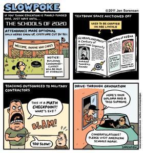"This Week's Cartoon: ""The Schools of 2020"""