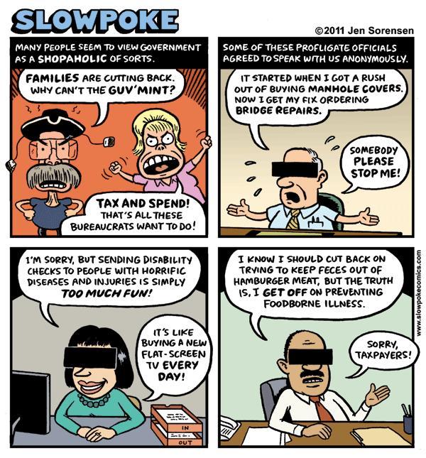 """This Week's Cartoon: """"Big-Spending Bureaucrats"""""""