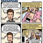 This week's Cartoon: Komen's Wardrobe Malfunction