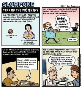 """This Week's Cartoon: """"Year of the Mombies"""""""