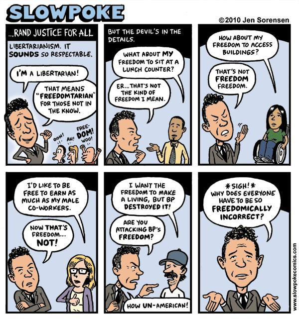"""This Week's Cartoon: """"…Rand Justice For All"""""""