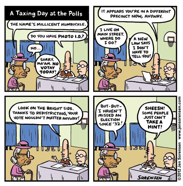 "Last Week's Cartoon: ""A Volatile Situation"""