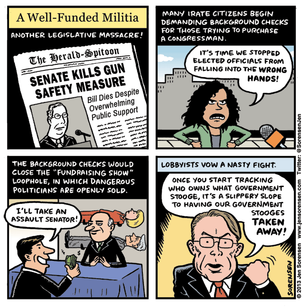A Well-Funded Militia
