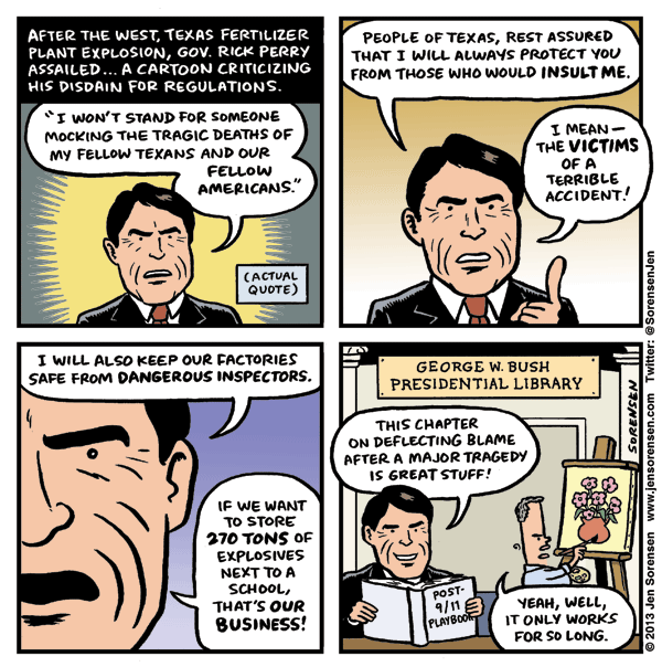 Rick Perry Explosion