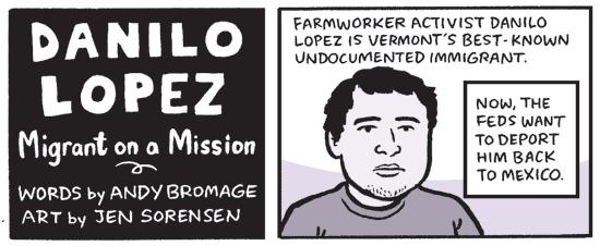 Danilo Lopez comic