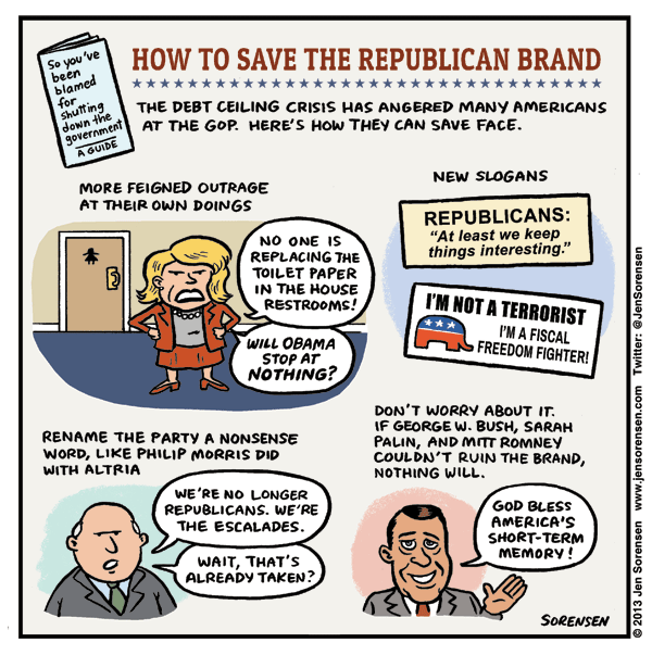 How to Save the Republican Brand