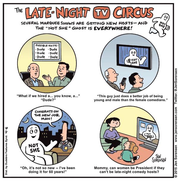 """The Late-Night TV Circus"""